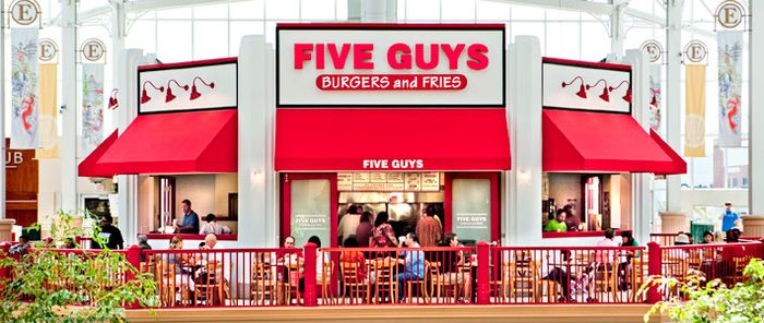 Five Guys design etc.